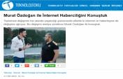 Murat Özdoğan'ın 'İnternet Haberciliğinin Geleceği' Röportajı